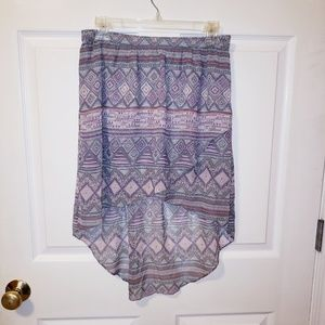 American Eagle High Low Wrap Skirt Size 4